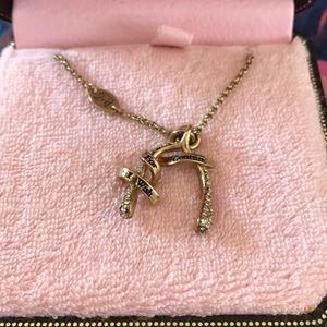 BNIB juicy Couture wishbone necklace